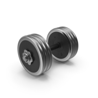 30 kg Steel-Rubber Dumbbell PNG & PSD Images