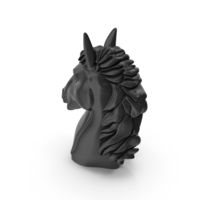 Black Horse Head PNG & PSD Images