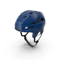 Blue Hockey Helmet PNG & PSD Images