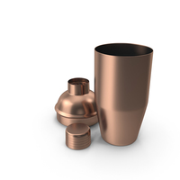 Copper Cocktail Shaker PNG & PSD Images