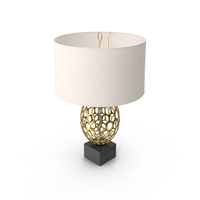 Art Deco Table Lamp PNG & PSD Images
