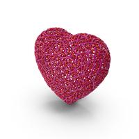 Webbed Heart Shape PNG & PSD Images