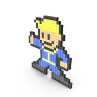 Fallout Boy Pixelated PNG & PSD Images