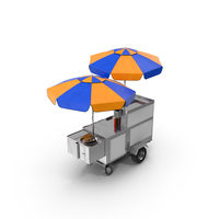 New York Hot Dog and Pretzel Stand PNG & PSD Images