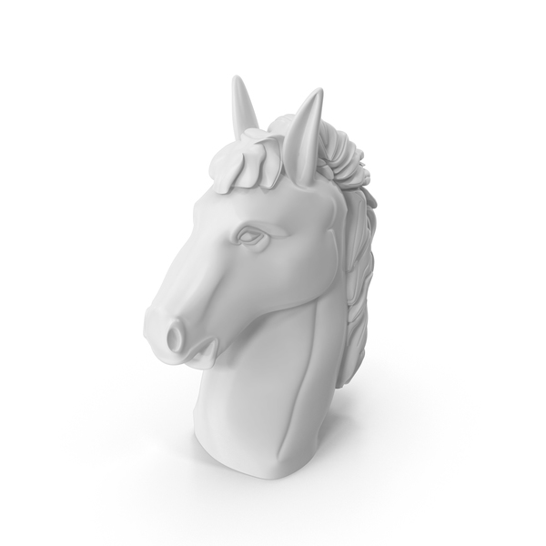 White Horse Head PNG & PSD Images
