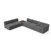 Sectional Corner Sofa PNG & PSD Images