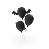Halloween Balloons PNG & PSD Images