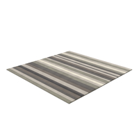 Grey Striped Rug PNG & PSD Images