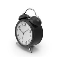 Black Alarm Clock PNG & PSD Images