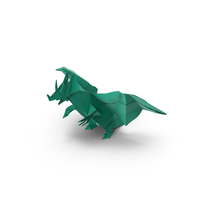 Origami Dragon PNG & PSD Images