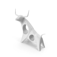 Angry Bull Figurine PNG & PSD Images