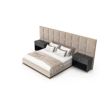 Rugiano Gemma Double Bed PNG & PSD Images