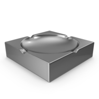 Chrome Ash Tray PNG & PSD Images