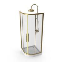 Classical Style Shower Cabin PNG & PSD Images