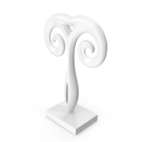 Abstract Figure Sculpture PNG & PSD Images