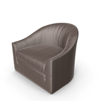 Club Brown Armchair PNG & PSD Images