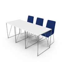 Conference Office Table And Chairs PNG & PSD Images