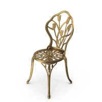 Noble House Cast Aluminium Dining Chair PNG & PSD Images