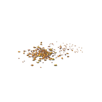 Dried Scattered Leaves PNG & PSD Images