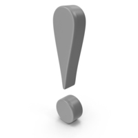 Exclamation mark PNG & PSD Images