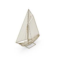 Yacht Ship Sculpture PNG & PSD Images