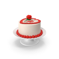 Heart Shaped Cake PNG & PSD Images