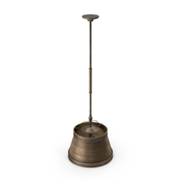 Lamp Antique Brass PNG & PSD Images
