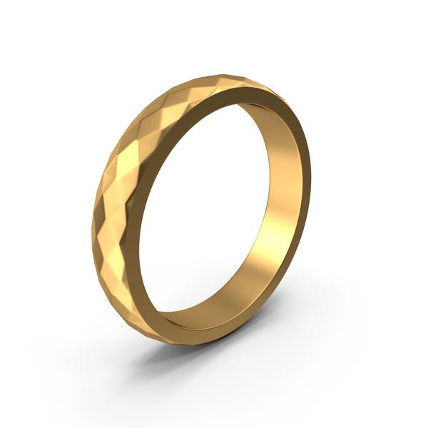 Gold Metal Ring Bracelet PNG & PSD Images