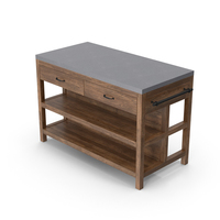 Kitchen Island Slate Top PNG & PSD Images