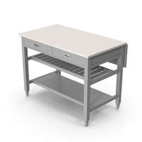 Grey Kitchen Island PNG & PSD Images
