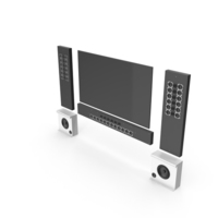 Wall Home Tv Theatre PNG & PSD Images