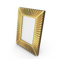 Golden Eichholtz Frame PNG & PSD Images