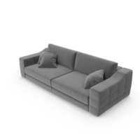 Contemporary Tufted Fortune Sofa PNG & PSD Images