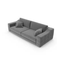 Grey Sectional Corner Fortune Sofa PNG & PSD Images