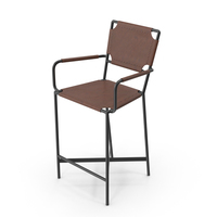 Laredo Counter Stool PNG & PSD Images