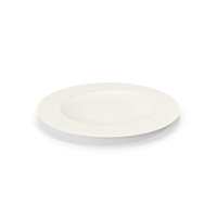 White Pearl Dinner Plate PNG & PSD Images