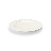 White Pearl Salad Plate PNG & PSD Images