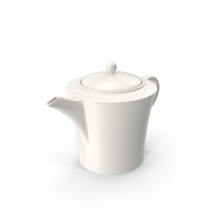Pearl Teapot PNG & PSD Images