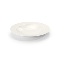 White Pearl Low Bowl PNG & PSD Images