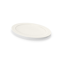 White Pearl Platter PNG & PSD Images