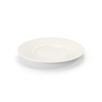 White Pearl Saucer PNG & PSD Images