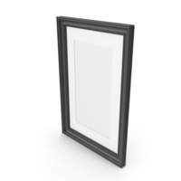 Wooden Picture Black PNG & PSD Images