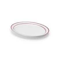 Large Oval Platter PNG & PSD Images