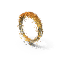 Autumnal Ivy Ring PNG & PSD Images