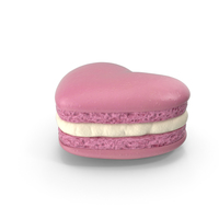 Heart Macaroon PNG & PSD Images