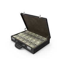 Briefcase with Money PNG & PSD Images
