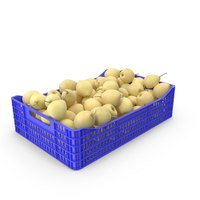 Pear Chinese Plastic Crate PNG & PSD Images