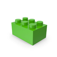 Lego Brick Green PNG & PSD Images