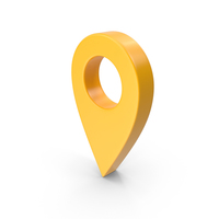 Map Pointer Yellow PNG & PSD Images