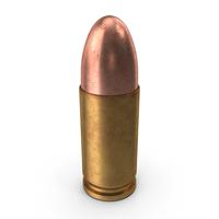 9x19mm Parabellum Cartridge PNG & PSD Images